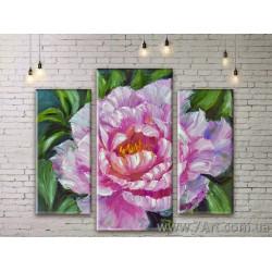 Модульные картины цветы Art. FLWM169