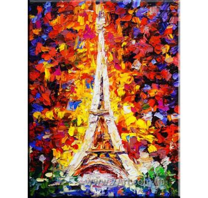 модульные картины эйфелева башня фото