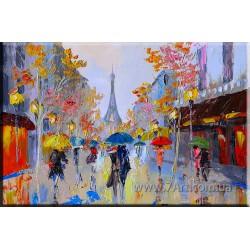 Городской пейзаж ART: STR047